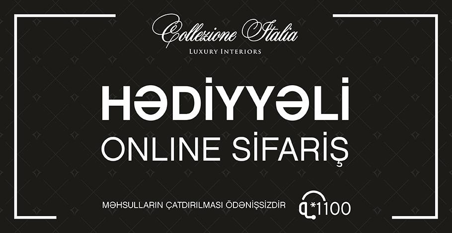Оставайтесь дома и совершайте онлайн покупки от Collezione Italia!